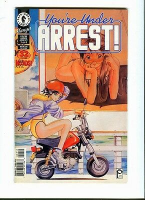 You're Under Arrest ! 7of 8. Dark Horse. 1996-K.Fujishima - FN / VF