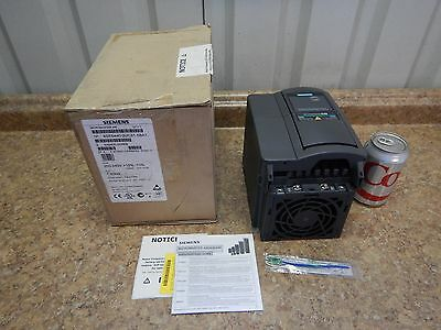 NEW Siemens Micromaster 440 Frequency Inverter AC Drive 1.50 kW, 2 HP, 240 V NEW