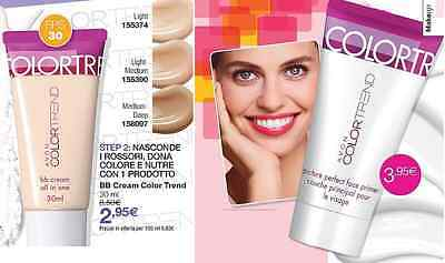AVON>Scegli tra PRIMER VISO PICTURE PERFECT e la BB CREAM COLORTREND BASE TRUCCO