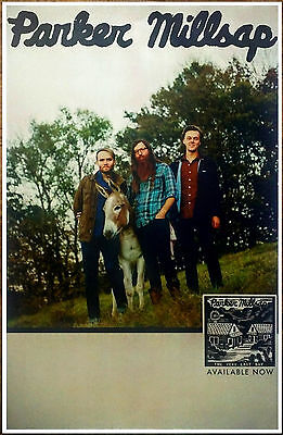 PARKER MILLSAP The Very Last Day 2016 Ltd Ed RARE New Poster +FREE Folk Poster!