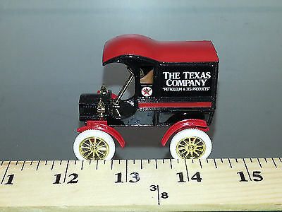 1/43 Ertl Texaco 1905 Ford Delivery Truck Red And Black In Decorative Tin Box