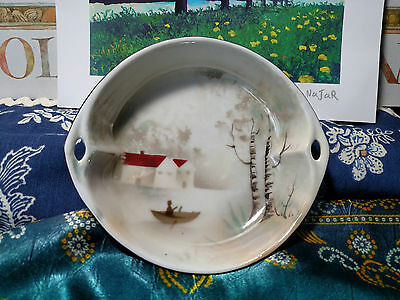 "Handpainted Small 5.5"" Bowl made in Prov Saxe E. S. Germany Beautiful!!!!"