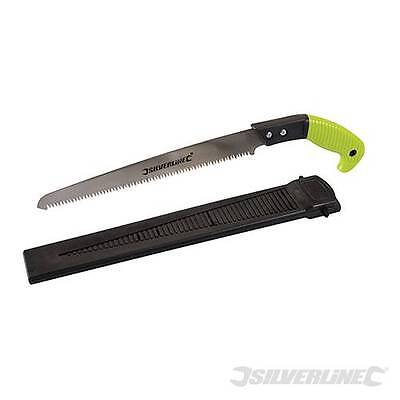 Silverline Pruning Saw With Sheath 300mm - Gardening Hand Tools - 868611