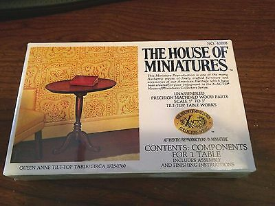 New Box BIN #A2 The House of Miniatures Open Cabinet Top 40002