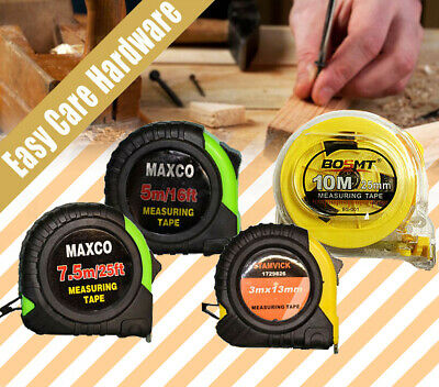 Measuring tape 3m 5m 7.5m 10m Easy Lock Release Long life HIGH QUALITY NEW