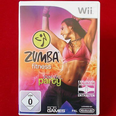 Nintendo WII ► Zumba Fitness: Join the Party ◄ TOP