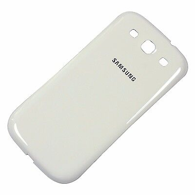 Samsung Galaxy S3 III, GT-i9300 (White) Back Battery Cover Door