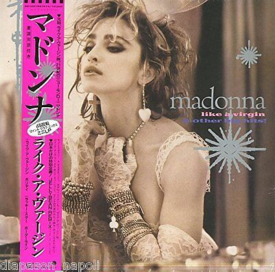 "Madonna: Like a Virgin & Other Big Hits - EP 12"" RDS 2016 vinile rosa SEALED"