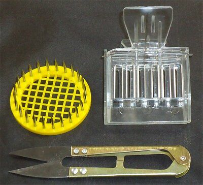 Queen Snips, Queen Catcher & Plastic Metal Marking Cage - Bees - Hive - Queen -