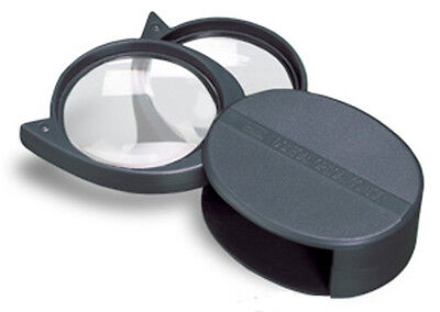 Donegan P-937 3X, 4X or 7X Magni-Pak Pocket Magnifier Protective Swing-Away Case