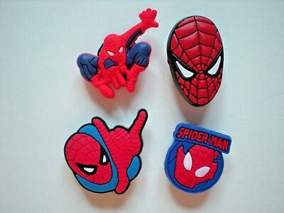 Jibbitz Croc Clog Shoe Charm Embellishments Holey Accessories Bracelet Spiderman