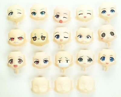 GSC Nendoroid Replacement Happy Sad Crying Faces Custom Parts
