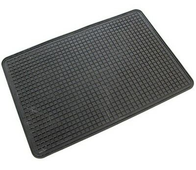 CAR Rubber MAT CARPET FLOOR MATS FRONT UNIVERSAL NON SLIP SKID VAN NEW DHL 🇬🇧