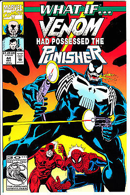 Marvel Comics WHAT IF 1992 #44 NM Venom Punisher detailed pictures