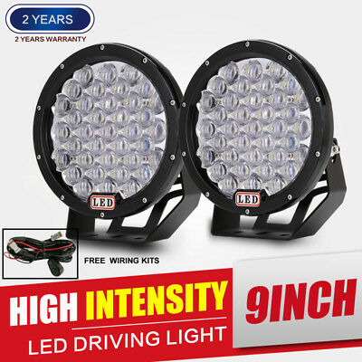 9INCH 5940w black Round Cree Led Driving Light Spotlight 4WD Offroad HID SUV 4×4