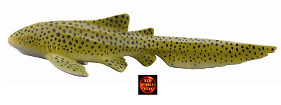 ZEBRA SHARK - 11cm Sealife Model by CollectA 88614 *Brand New with tag*
