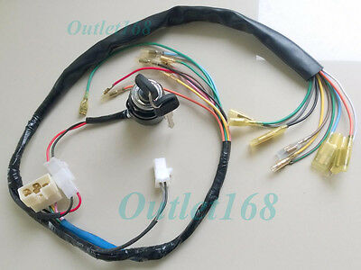 Honda CL90 CS90 S90 Wiring Loom Wire Harness Cabling SET Ignition Switch 2 wires