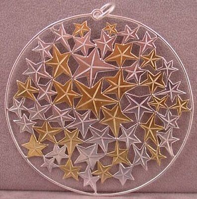 Buccellati 2012 Annual Sterling Limited Edition Ornament - Christmas Stars