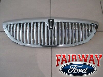 03 Thru 11 Lincoln Town Car Oem Genuine Ford Chrome Grille Grill