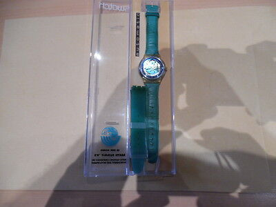 vintage montre swatch earth summit 92 automatic
