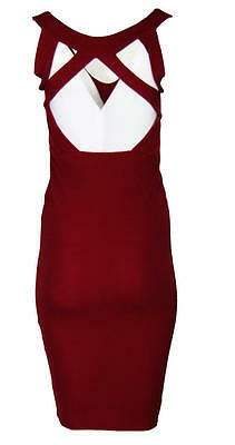 C01 New Womens Ladies Cut Out Celebs Inspired Bodycon Going Out Party Dresses