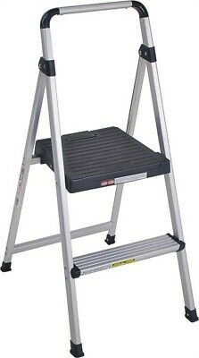 Light Weight 2-Step Folding Step Stool,No 11-628-ABK4