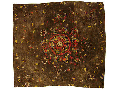 Antique Collectible 17th Century Turkish Needlepoint Pillow (Made to order)