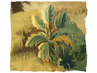 Antique Collectible 17th Century French Verdure Tapestry Pillow (made to order)