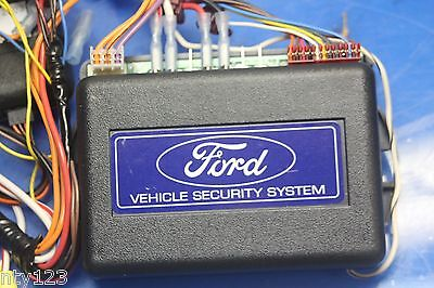 OEM Ford Vehicle Security System