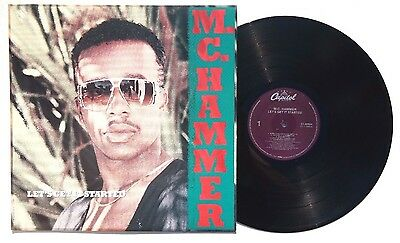 MC HAMMER: Lets Get Started LP CAPITOL RECORDS C190924 US 1988 NM+
