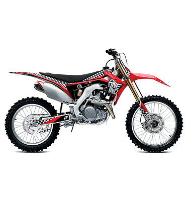 Honda Crf450R 2013-16 & Crf250R 2014-16 Mx Graphics Decals Kit Stickers
