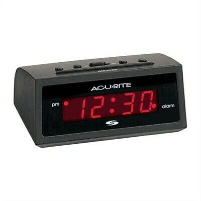 Acurite Electric Alarm Clock,No 13002,  Chaney Instrument Co