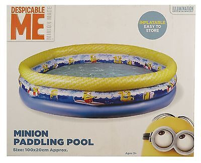 Despicable Me Minion Paddling Pool For Kids