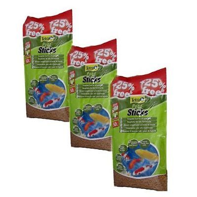 3x 50L TETRA POND STICKS FLOATING KOI FISH posted today if paid before 1pm • EUR 120,72