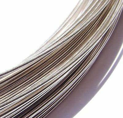 Sterling Silver Wire .930 Half Hard Round 1m