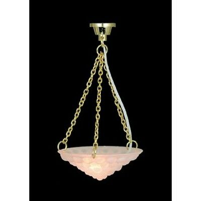 Dolls House Miniatures 1/12th scale Hanging Ceiling Light DE136 New