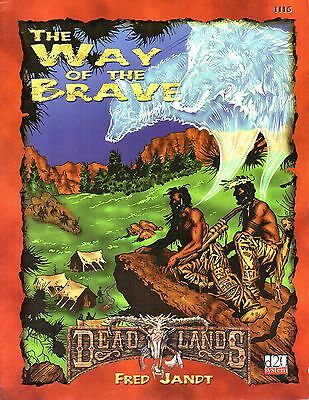 Dead Lands-The Way of the Brave-d20-RPG-Roleplaying Game-(SC)-very rare