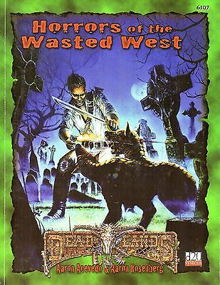Dead Lands-Horrors of the Wasted West-d20-RPG-Roleplaying Game-(SC)-very rare
