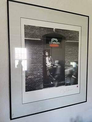 John Lennon Rock N' Roll Limited Edition Litho-Coa-1995 In A Frame For 21 Yrs