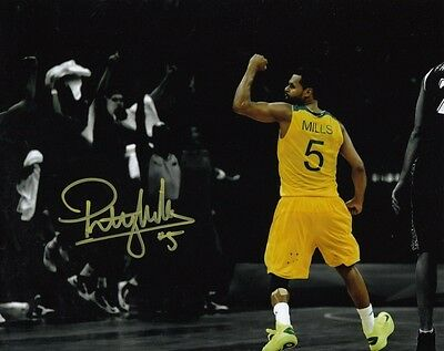 PATTY MILLS BASKETBALL SAN ANTONIO SPURS SIGNED 10x8 INCH LAB PRINTED PHOTO