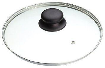 Quality Tempered Saucepan Pot or Pan Glass lid with Stainless Steel Lid In 8 Siz