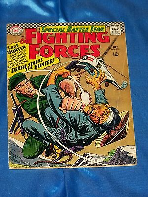 OUR FIGHTING FORCES # 100, May 1966, CAPTAIN HUNTER, Very Good - Fine Condition