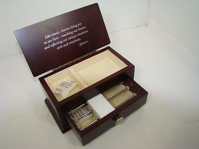 """New in Box    Brighton """"it's a keeper' jewelry box  Small  Made for Charms NWT"""