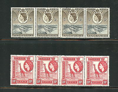 K.U.T.  1954  #103A-4A  QEII definitive booklet panes of 4     MNH   G853