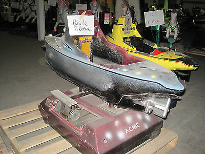 Boat  Submarine Coin Operated Kiddie Ride Coin Op  Amusement Park Ride