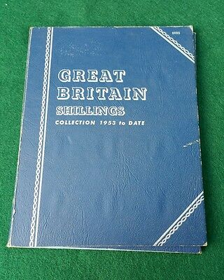 No. 9695 Great Britain SHILLINGS Collection 1953 to Date (Complete 1953 to 1966)