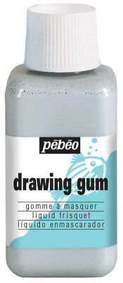 Pebeo Drawing Gum Masking Fluid Liquid Frisket for Watercolour & Ink 250ml