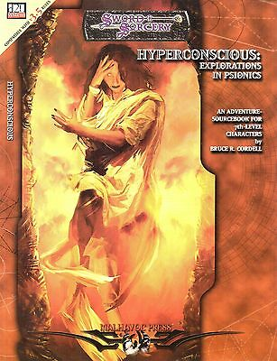 SWORD & SORCERY-HYPERCONSIOUS: EXPLORATION IN PSIONICS-Sourcebook-Level 7-new