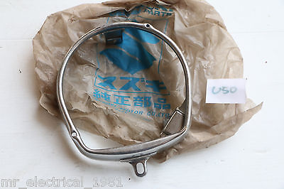 Genuine Suzuki Suzy U50 U70 K30 K40 Head Lamp Light Rim NOS