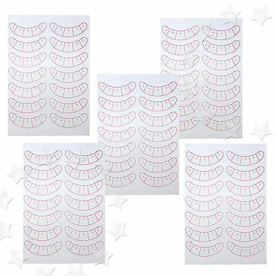 35 Pairs Under Eye Pads Stickers Patches Eye Make Up Tool For Eyelash Extension